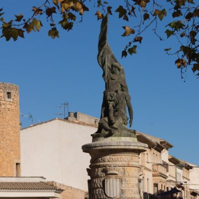 llucmajor estatua rey jaume III Mallorca, Balearic Islands, Spain